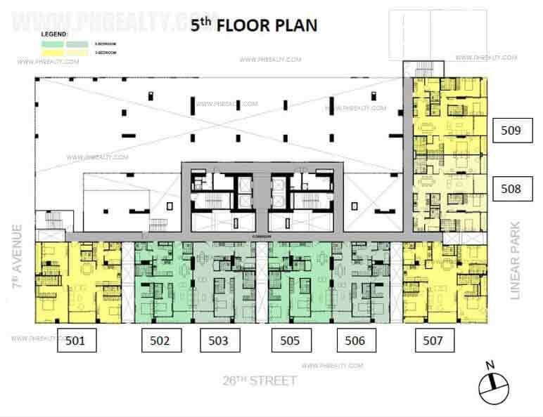 Verve Residences 5th Floor Urban Villas