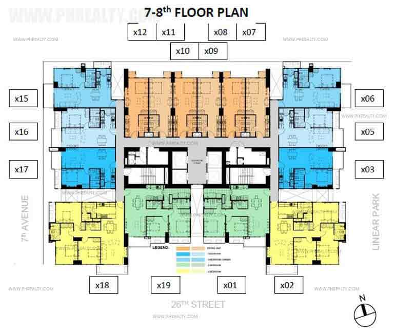 Verve Residences 7th-8th Floor