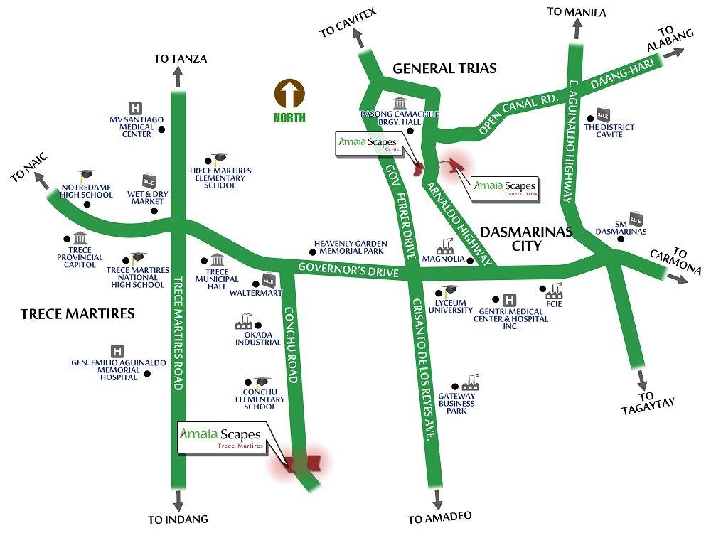 Amaia Scapes Trece Matires Location