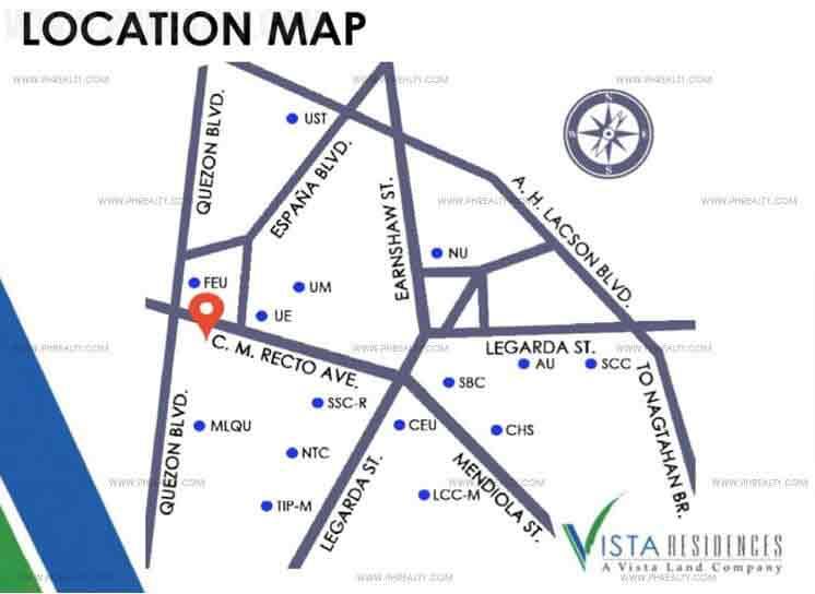 Vista Recto Location