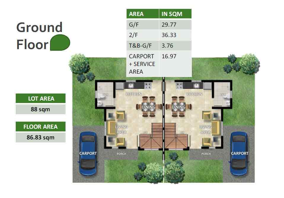 Abigail Ground Floor Plan