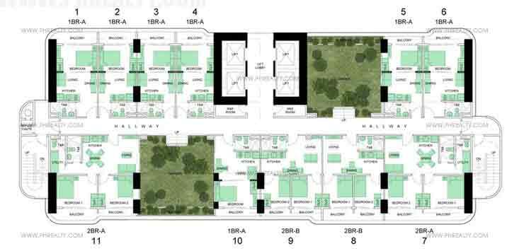Lower Sky Garden Floor