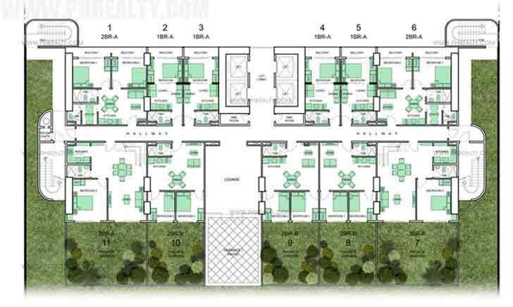 Private Garden Floor