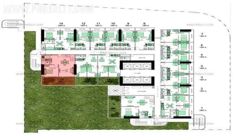 Typical Floor Plan 6th To 7th Floor
