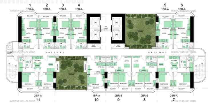 Upper Sky Garden Floor