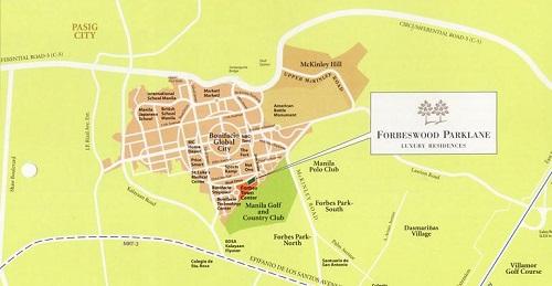 Forbeswood Parklane Location