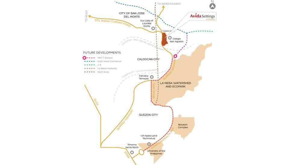 Avida Settings Altaraza Location