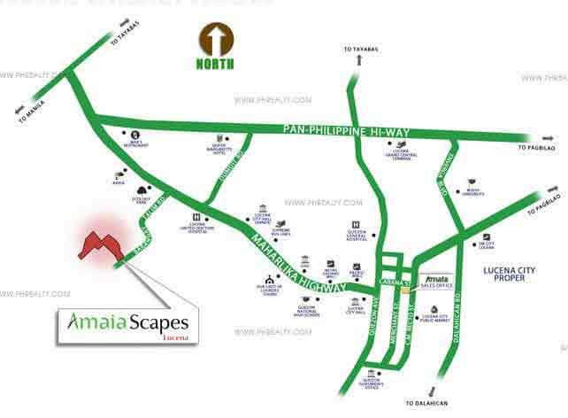 Amaia Scapes Lucena Location