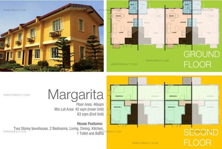 Margarita-TH Floor Plan