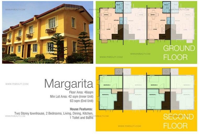 Margarita - TH House Floor Plan