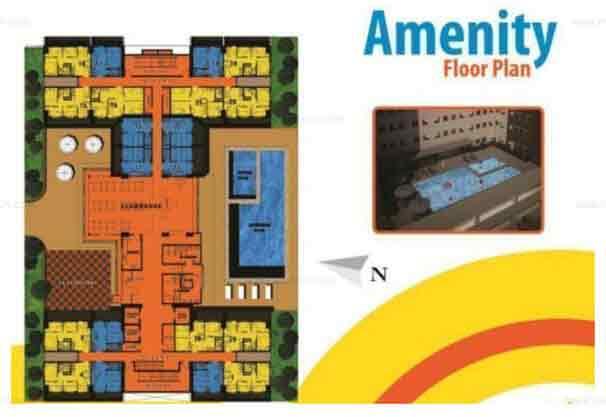 Ameneties Floor Plan