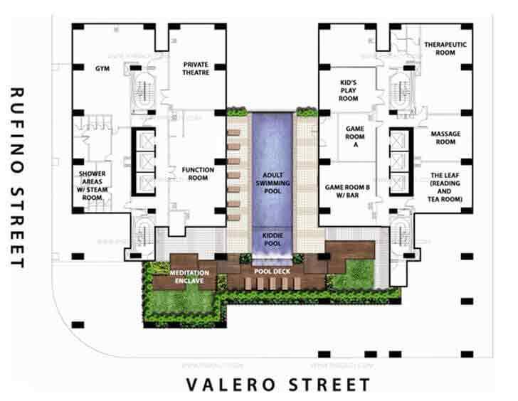 Amenities and Facilities Floor Plan