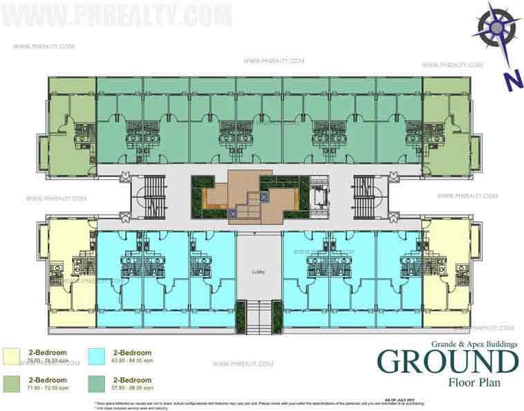 Grande Floor Plans