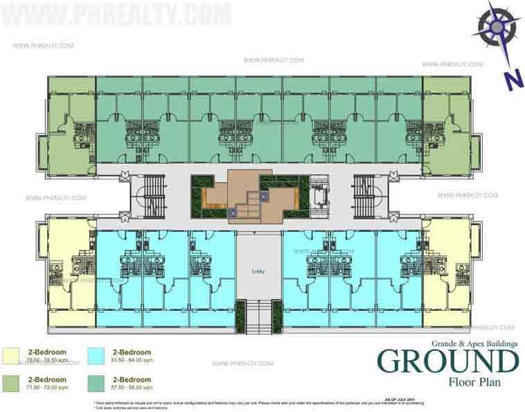 Vincere Floor Plans
