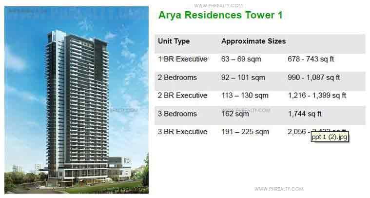 Arya Residences Tower