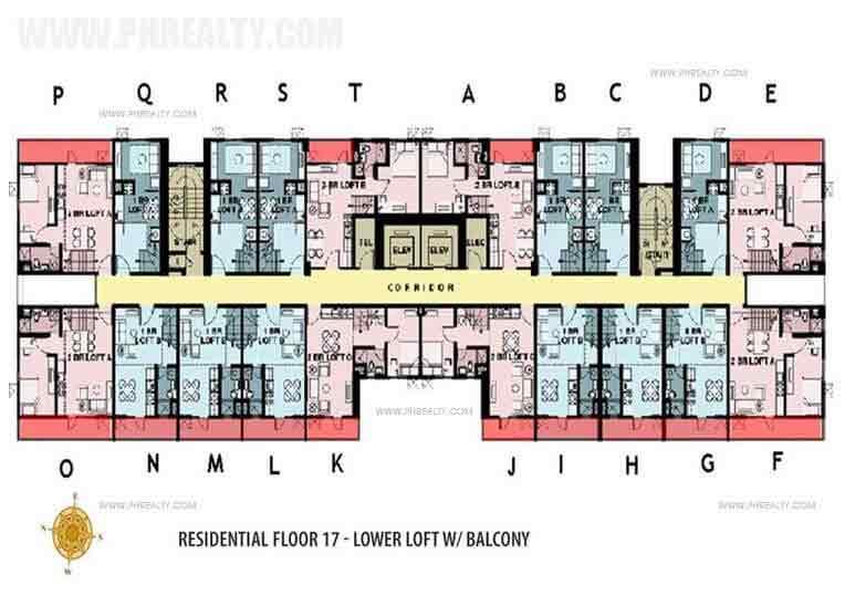 Floor Plan Lower Loft