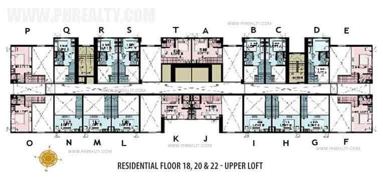 Floor Plan Upper Loft