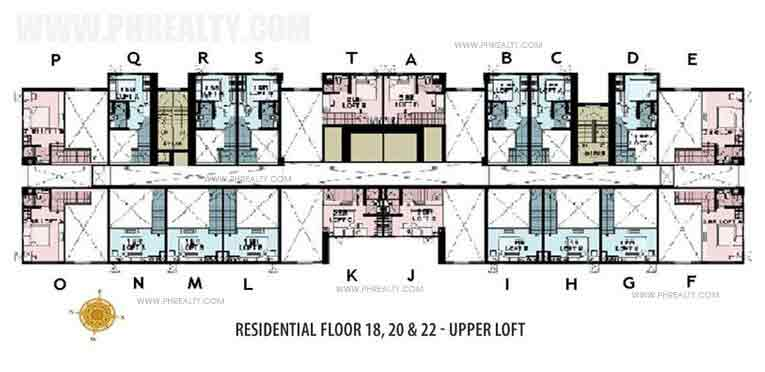 Floor Plan Upper Loft