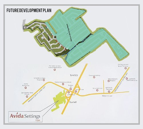 Avida Settings Lipa Location
