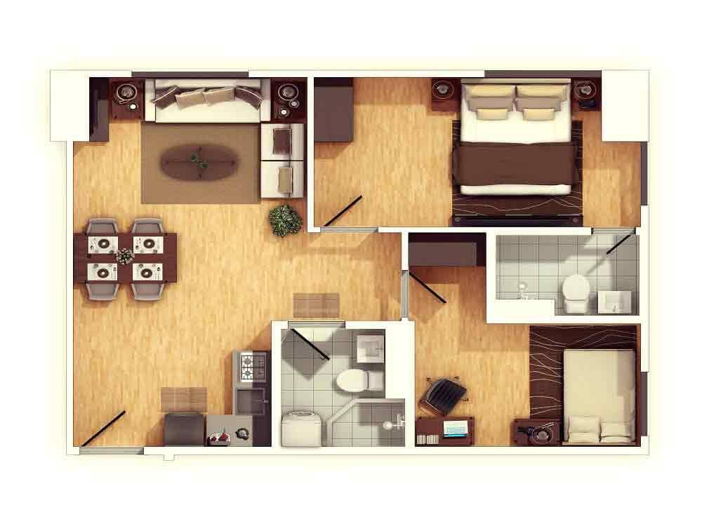 2 Bedroom HR