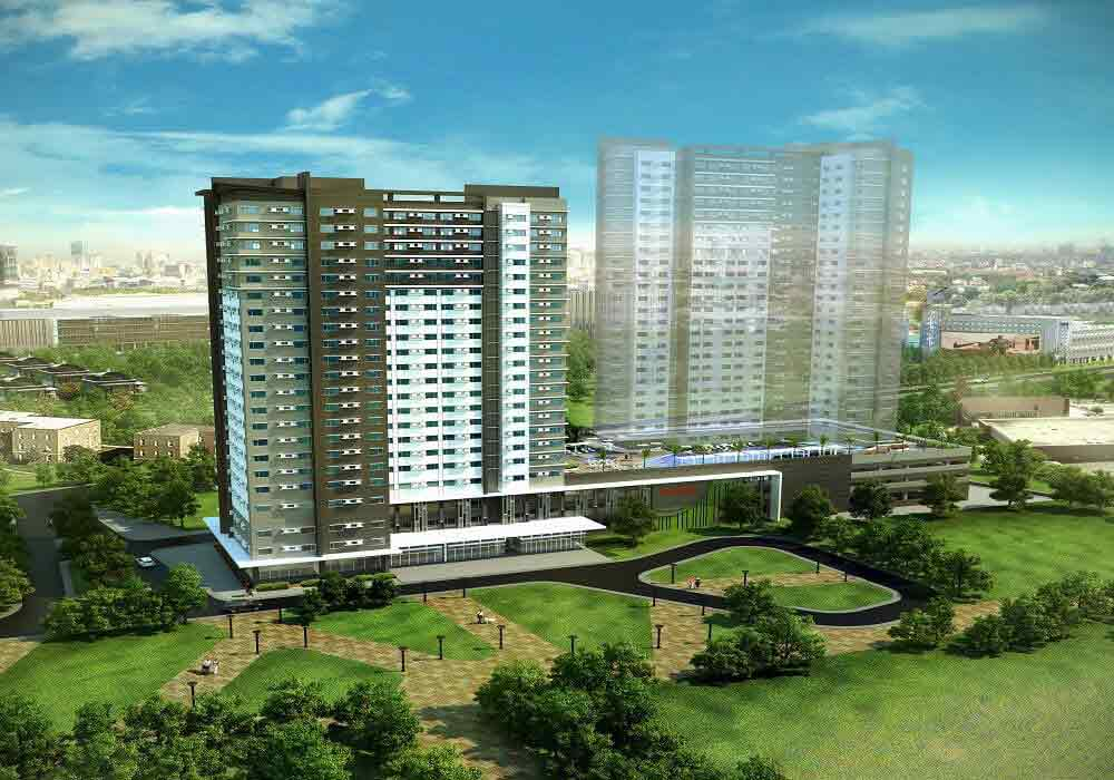 Avida Towers Altura - Building Perspective
