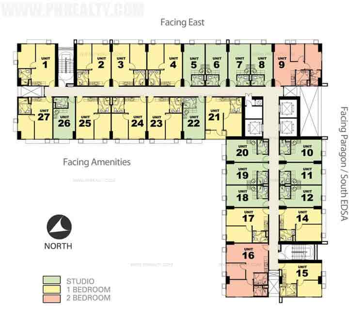 Tower 3 Floor Plan
