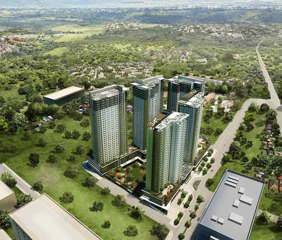 Avida Towers Riala Aerial View