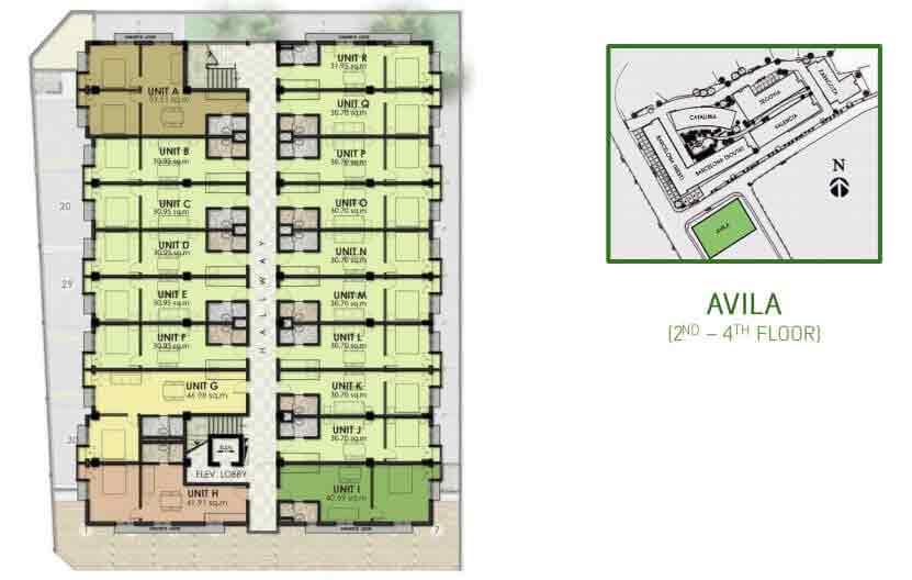 Avila Floor Layout