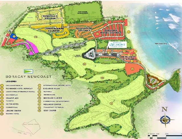 Belmont Boracay Location