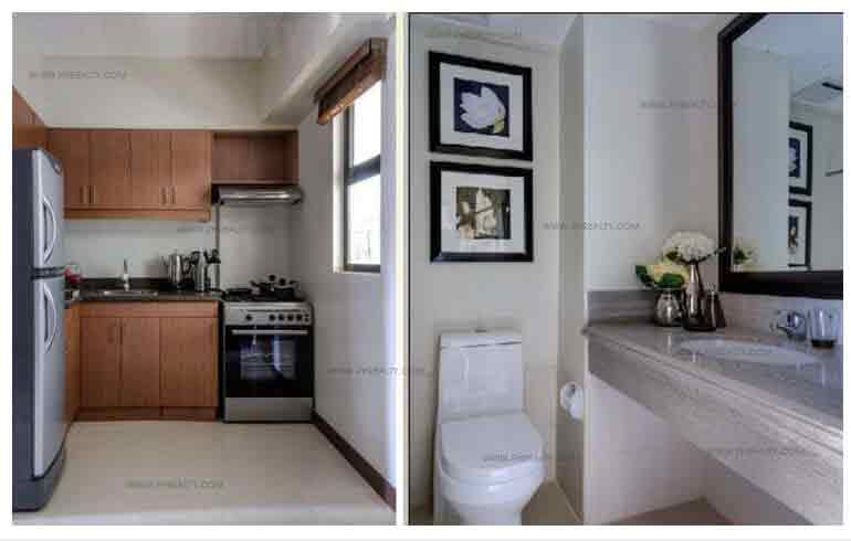 Kitchen And Toilet & Bath Area
