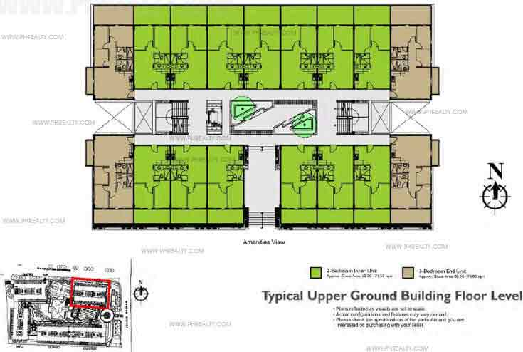 Typical Upper Ground Building Floor Plan
