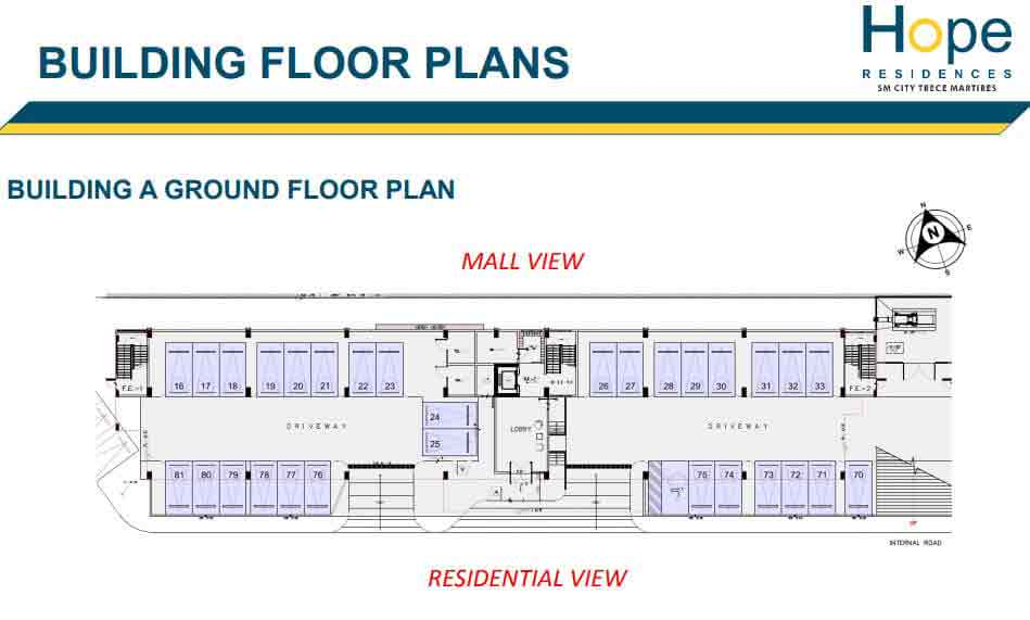 Building A - Ground Floor Plan
