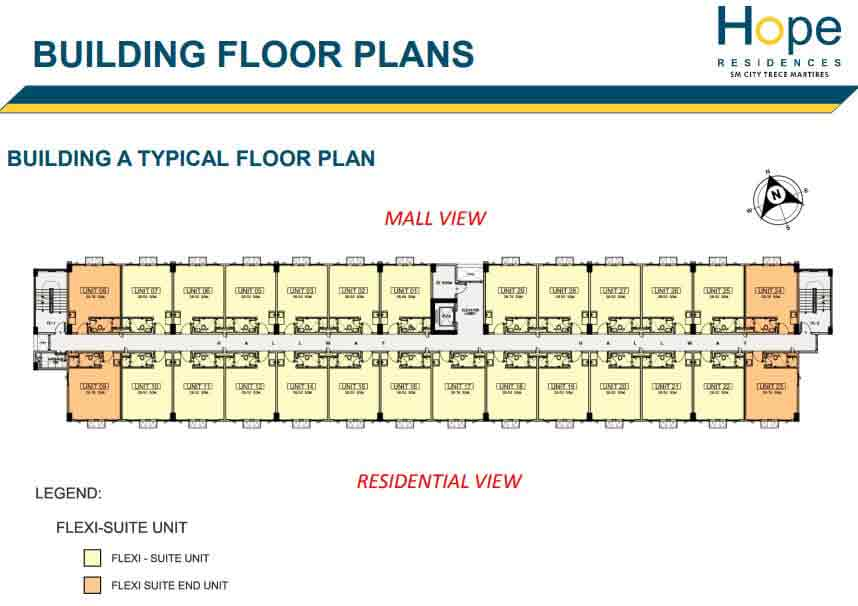 Building A - Typical Floor Plan