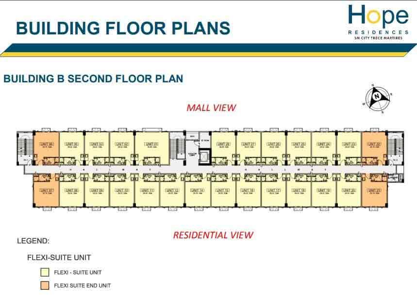 Building B - 2nd Floor Plan