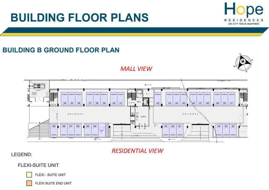 Building B - Ground Floor Plan