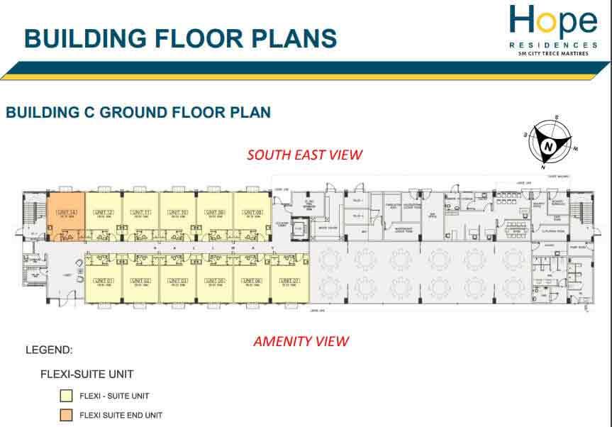 Building C - Ground Floor Plan