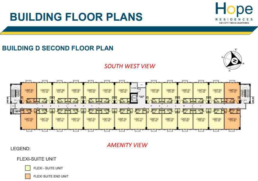 Building D - 2nd Floor Plan