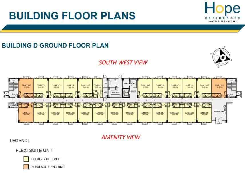 Building D - Ground Floor Plan