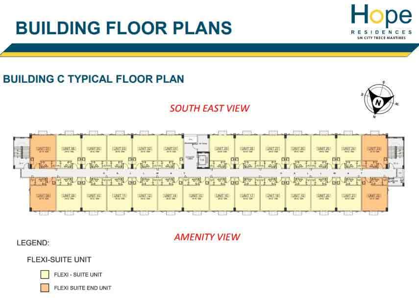 Building C - Typical Floor Plan