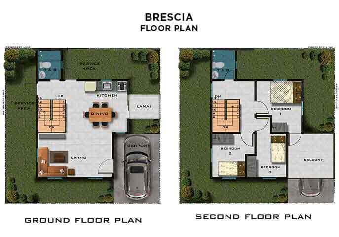 Brescia Floor Plans