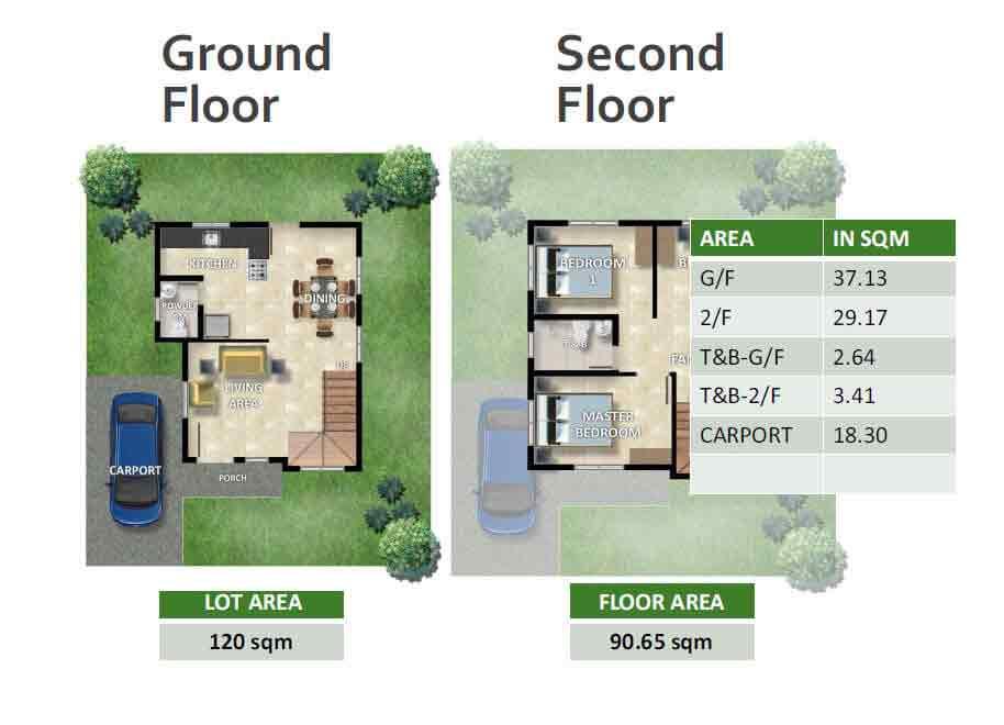 Bridgette Floor Plans