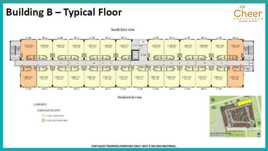 Building B - Typical Floor
