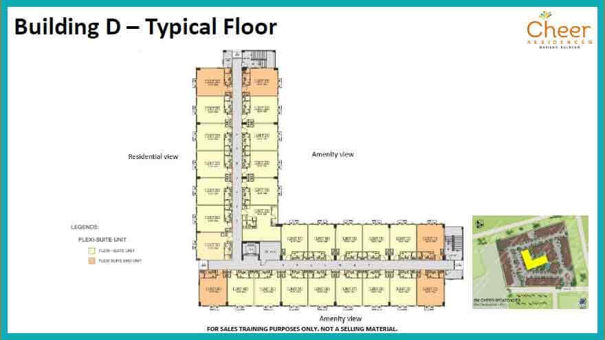 Building D - Typical Floor