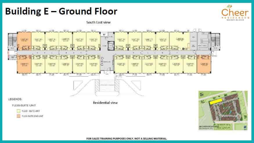 Building E - Ground Floor