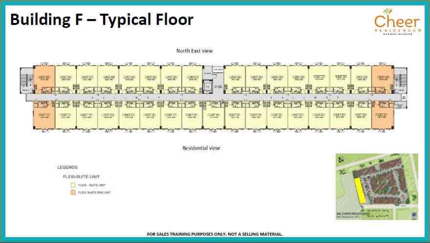 Building F - Typical Floor