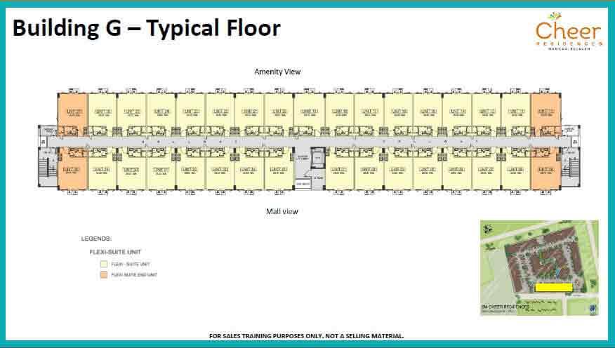 Building G - Typical Floor