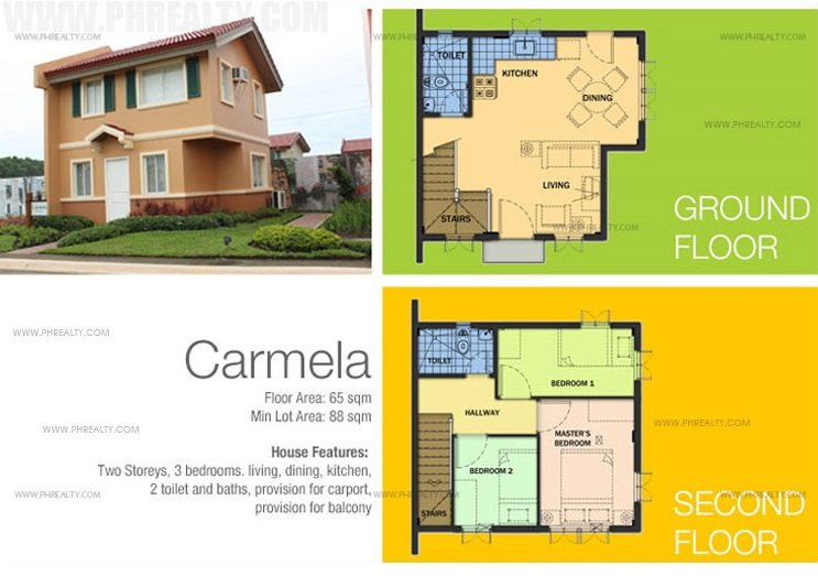 Carmela House Floor Plan