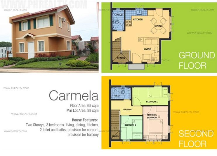 Carina House Floor Plan