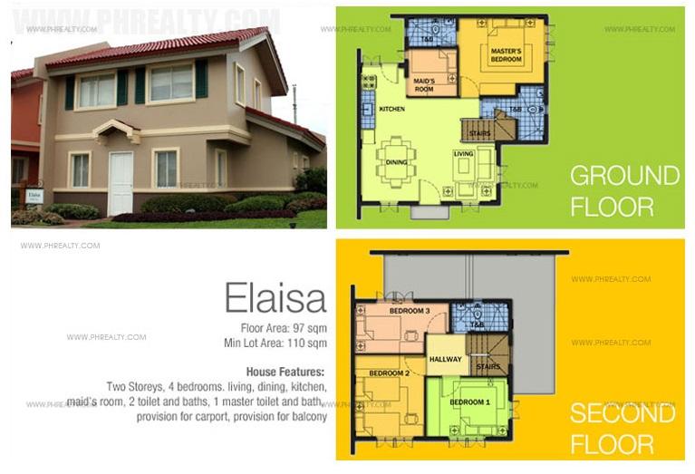 Elaisa House Floor Plan
