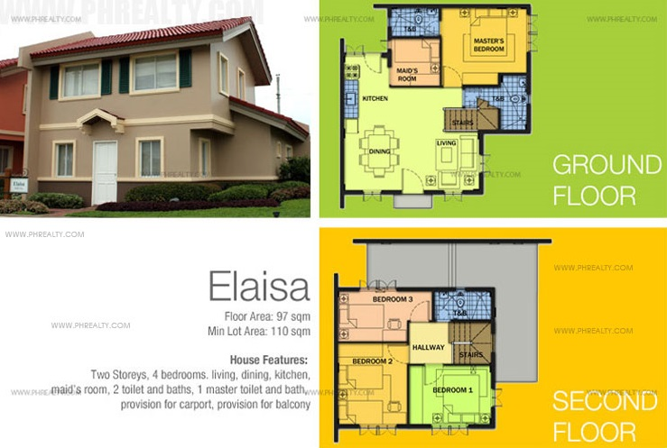 Elaisa Floor Plan